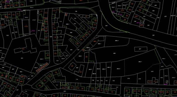 Digitální katastrální mapa