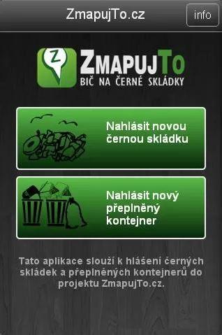 Aplikace pro Android – úvodní obrazovka, zdroj: Google Play